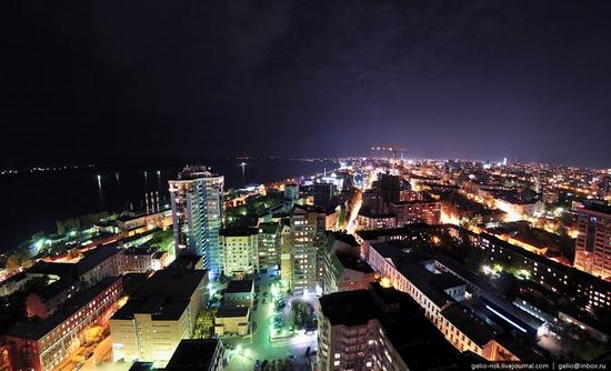 Samara city, Russia night view 2