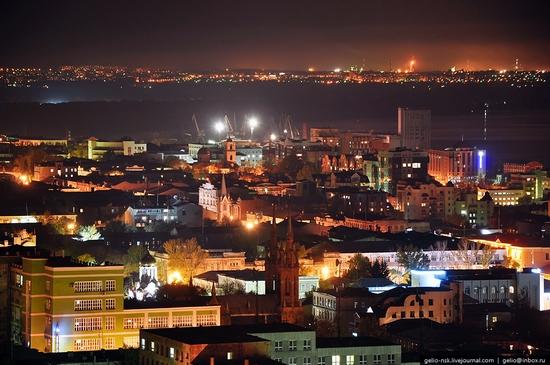 Samara city, Russia night view 3