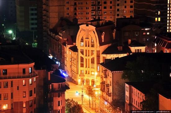 Samara city, Russia night view 5