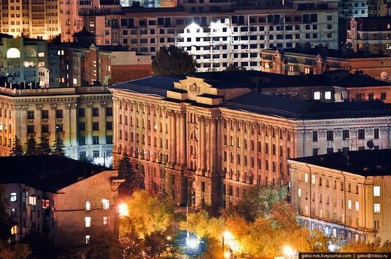 Samara city, Russia night view 6