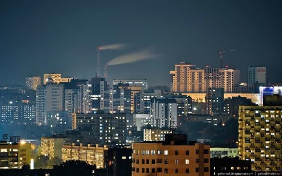 Samara city, Russia night view 7