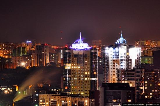 Samara city, Russia night view 9
