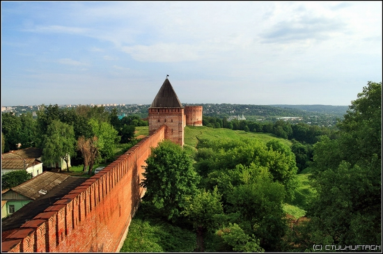 Smolensk city, Russia kremlin view 1