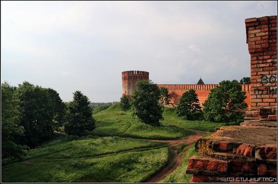 Smolensk city, Russia kremlin view 7