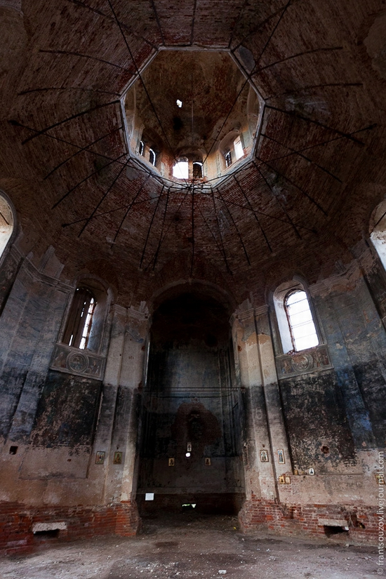 Tver oblast, Russia abandoned church view 19