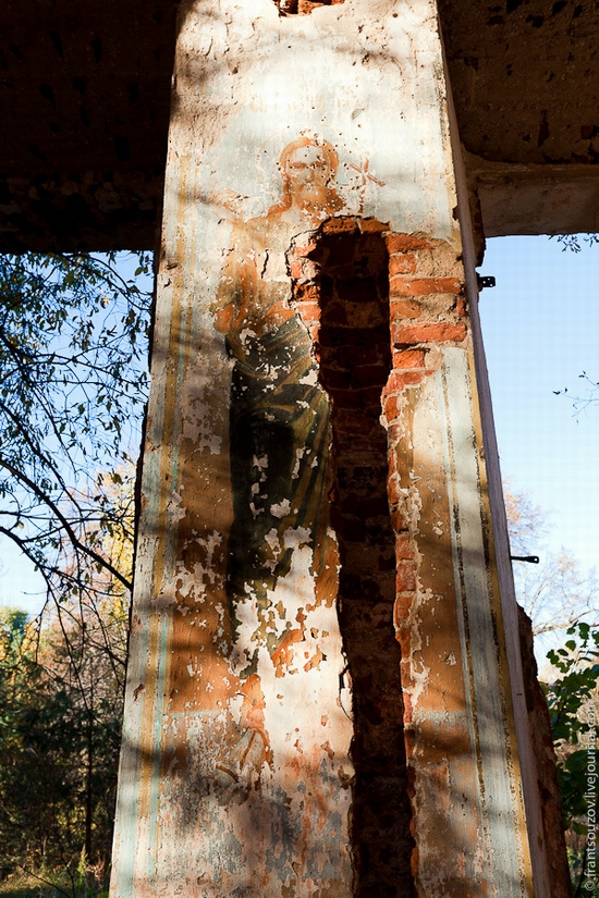 Tver oblast, Russia abandoned church view 7