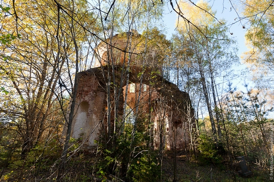 Tver oblast, Russia abandoned church view 9