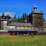 Vodlozersky national park sceneries