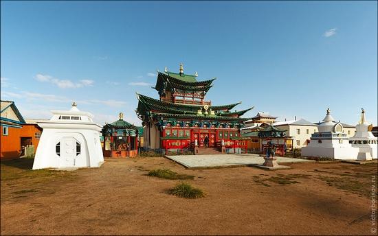 Ivolginsky Datsan, Buryatia Republic, Russia view 1