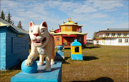 Ivolginsky Datsan, Buryatia Republic, Russia view 14
