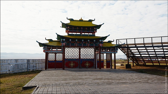 Ivolginsky Datsan, Buryatia Republic, Russia view 15