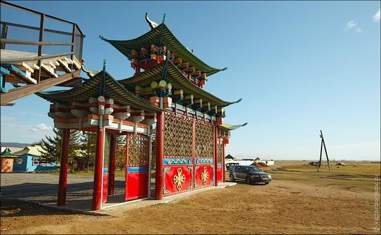 Ivolginsky Datsan, Buryatia Republic, Russia view 3