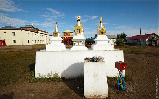 Ivolginsky Datsan, Buryatia Republic, Russia view 8