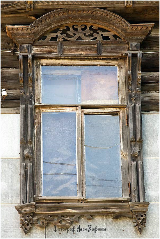 Kostroma city, Russia windows frames view 15