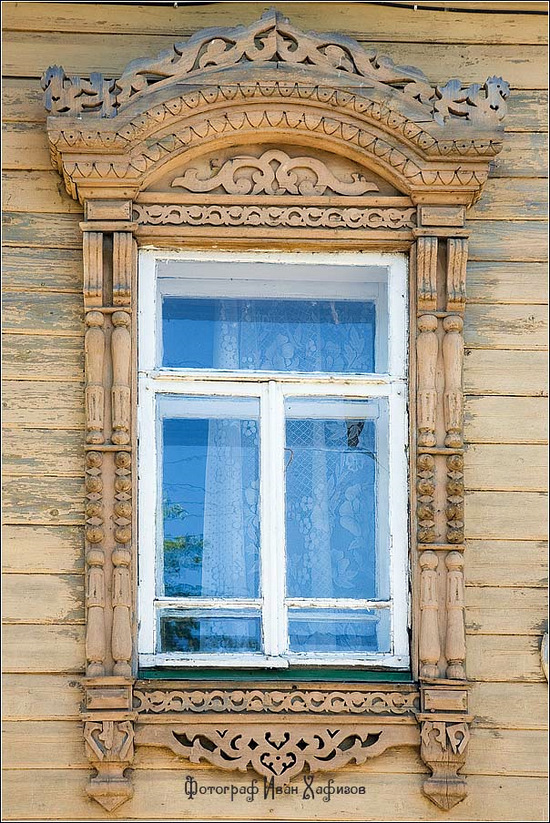Kostroma city, Russia windows frames view 25