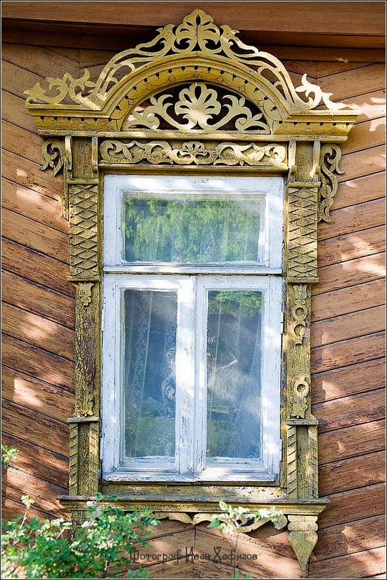 Kostroma city, Russia windows frames view 27