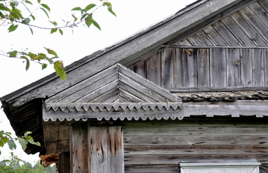 Kovda village, Russia wooden houses view 10