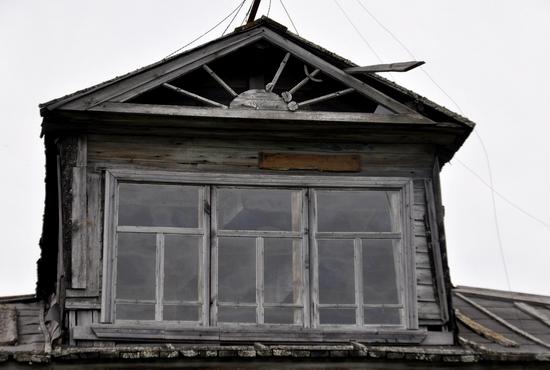 Kovda village, Russia wooden houses view 14