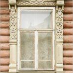 The window frames of Myshkin town