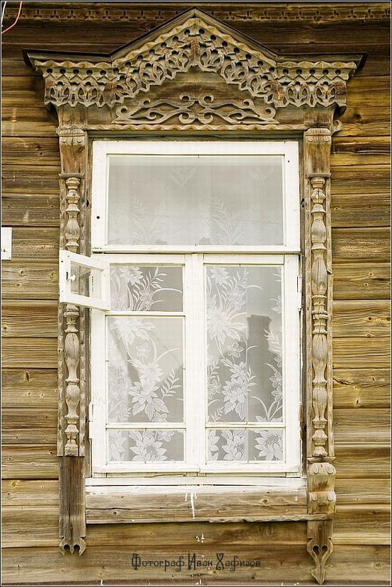 Myshkin town, Russia windows frames view 27