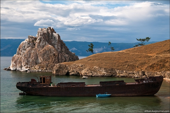 The Trip To Olkhon Island Baikal Lake on nature frames