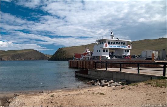 Olkhon Island, Baikal Lake, Russia trip view 2