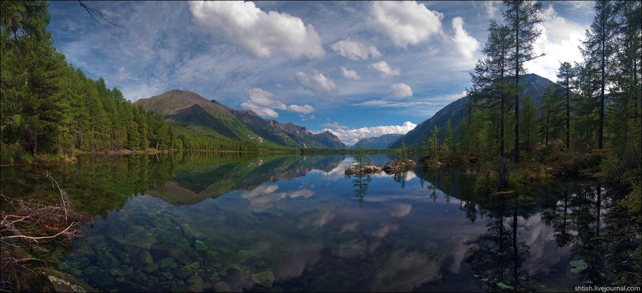 Sayany mountains, Buryatia, Russia trip view 1
