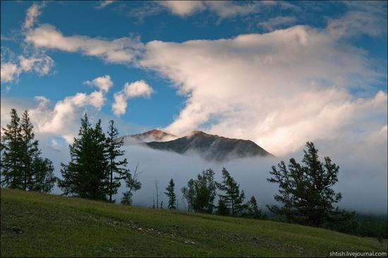 Sayany mountains, Buryatia, Russia trip view 2