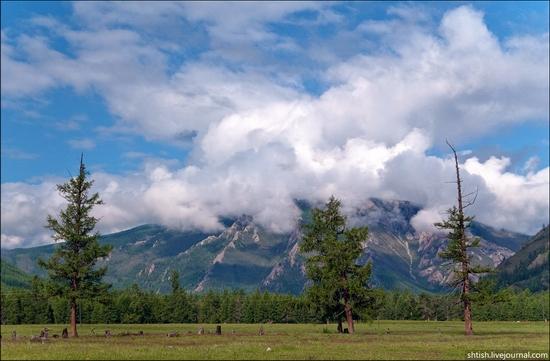 Sayany mountains, Buryatia, Russia trip view 3