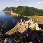 Uzury area of Olkhon Island, Baikal Lake