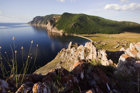 Uzury area, Olkhon Island, Baikal Lake, Russia view 1