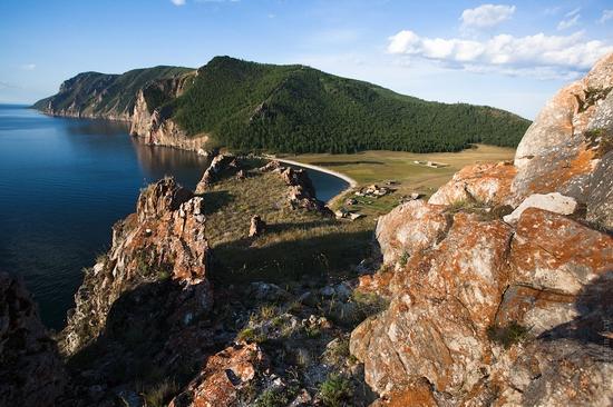 Uzury area, Olkhon Island, Baikal Lake, Russia view 26