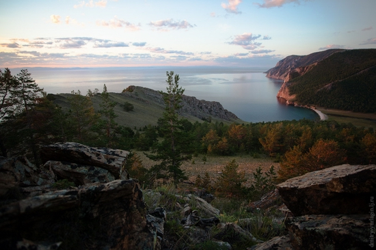Uzury area, Olkhon Island, Baikal Lake, Russia view 4