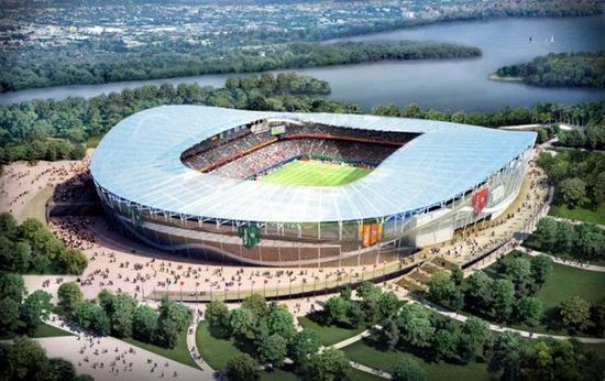 Here are the pictures of Russian stadiums that will host FIFA World Cup 2018