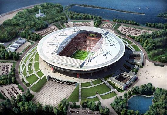 Russia World Cup 2018 Saint-Petersburg stadium