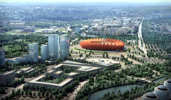 Russia World Cup 2018 Saransk stadium
