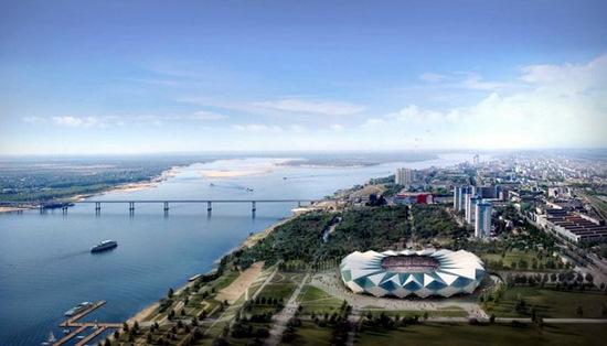 Russia World Cup 2018 Volgograd stadium