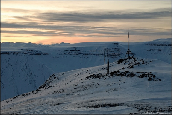 Russian Spitsbergen winter landscapes 14