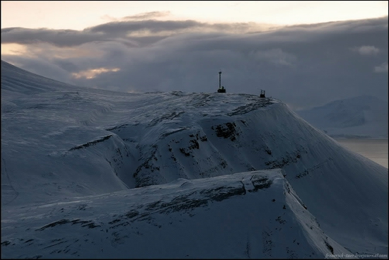 Russian Spitsbergen winter landscapes 2