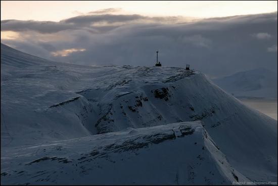 Russian Spitsbergen winter landscapes 2