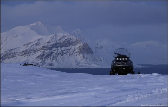 Russian Spitsbergen winter landscapes 22