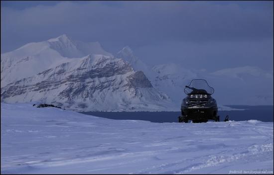 Russian Spitsbergen winter landscapes 22