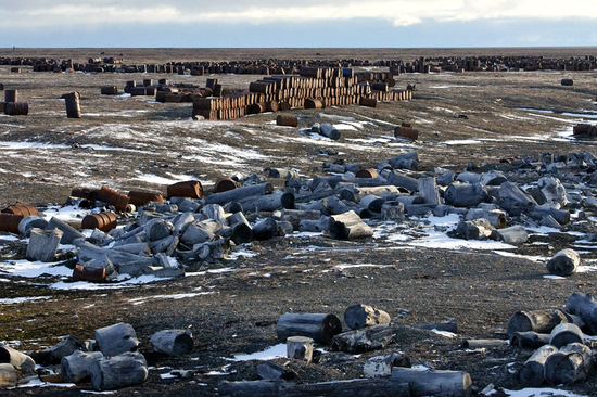 Wrangel Island, Russia pollution view 11