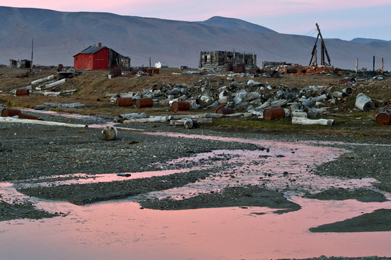 Wrangel Island, Russia pollution view 12