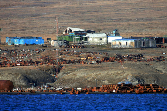 Wrangel Island, Russia pollution view 6