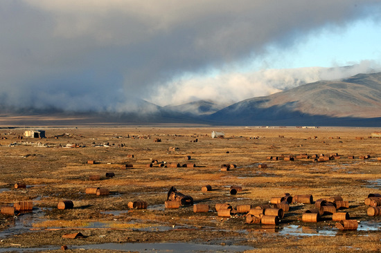 Wrangel Island, Russia pollution view 8
