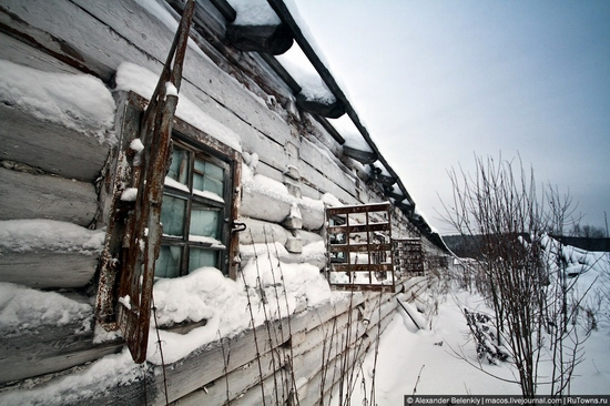 Abandoned colony for criminals, Russia view 12