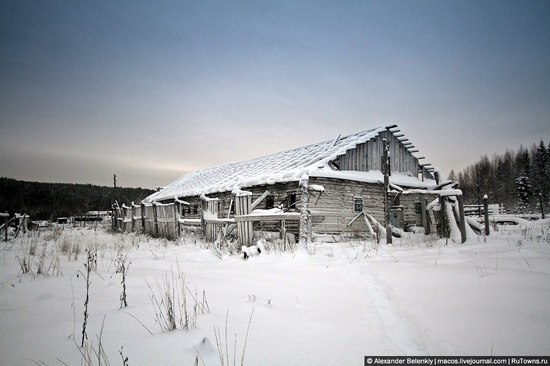 Abandoned colony for criminals, Russia view 13