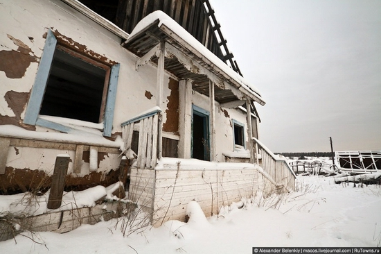 Abandoned colony for criminals, Russia view 14