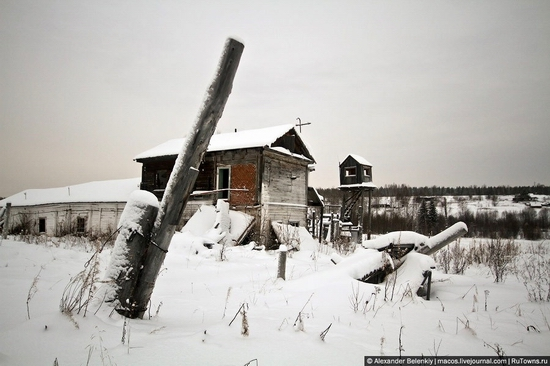 Abandoned colony for criminals, Russia view 16